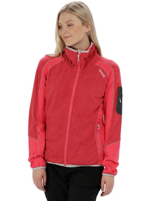 Regatta Laney IV Fleece Jacket Women Bright Blush Marl/Bright Blush